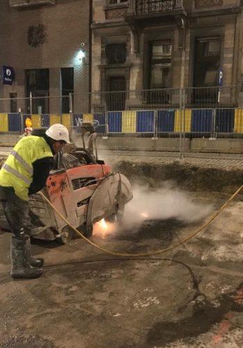 Vernieuwen Tunneldak Schumantunnel Brussel